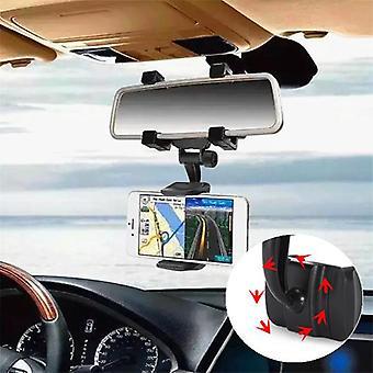 Bakeey™ alt-5 360 ° obrót lusterka wstecznego uchwyt na telefon 3,5-5,5 cala