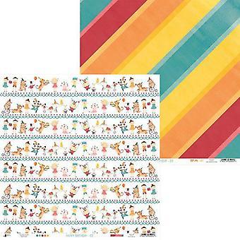 Piatek13 - Paper Happy Birthday 03 P13-410 12x12