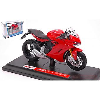 Maisto Special Edition Motorbike 1:18 Ducati Supersport S Red