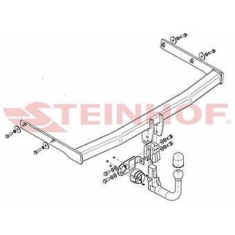 Steinhof automatico mowbar staccabile (verticale) per Volkswagen TOURAN 2003-2010