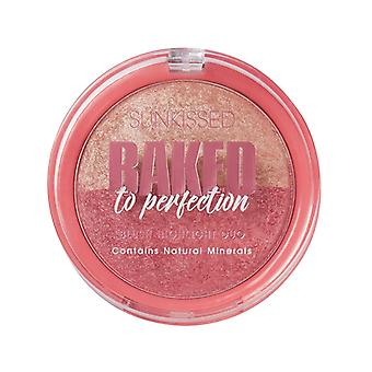 Sunkissed Baked To Perfection Blush & Highlight Duo 17g with Natural Minerals