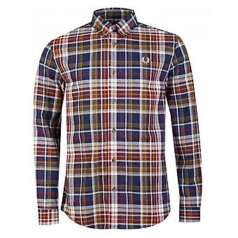 Fred Perry Authentics Tartan Long Sleeved Shirt