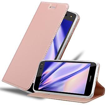 حالة كادورابو لغطاء حالة قضية Huawei Y6 2017 - حالة الهاتف مع المشبك المغناطيسي ، وظيفة الوقوف ومقصورة البطاقة - حالة حالة حالة واقية من الغطاء