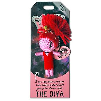 Watchover Voodoo Dolls The Diva Voodoo Keyring