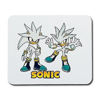 Sonic argint mouse pad