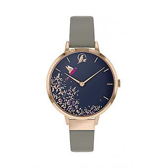 Sara Miller SA2022 Women's Navy Hummingbird Wristwatch