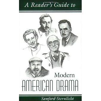 Reader's Guide to Modern America Drama de Sanford Sternlicht - 978081
