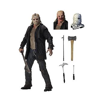 Jason Voorhees Ultimate Edition poseable siffra från fredagen den 13: e 2009