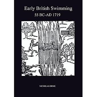 Early British Swimming, 55 B.C.-1719 A.D. (Exeter Maritime Studies)