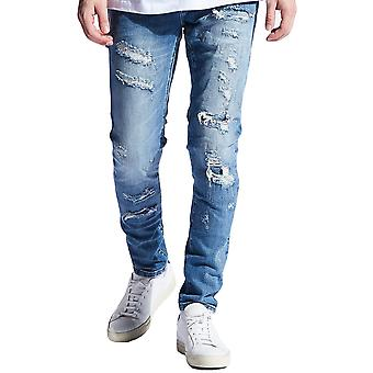 Embellish Snyder Denim Jeans Blue