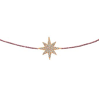 Choker Stella 18K Gold and Diamonds, on Thread