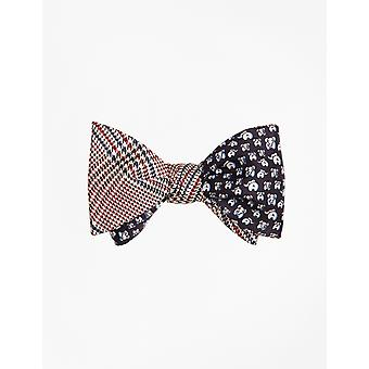 Brooks Brothers Men's -Navy Self-Tie Bow Tie