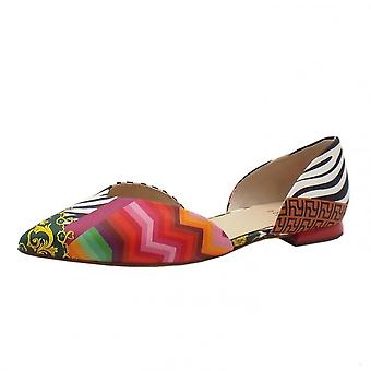 Högl 9-10 0003 All Day Chic Pointed Toe Suede Court Shoes In Multi-colour
