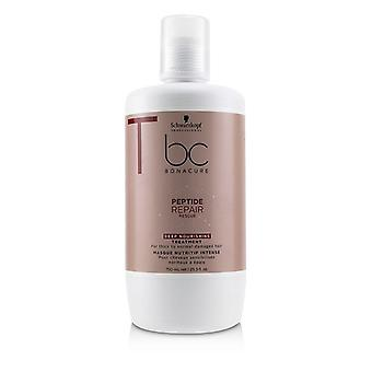 Schwarzkopf BC Bonacure Peptide Repair Rescue Deep Nourishing Treatment (For Thick to Normal Damaged Hair) 750ml/25.3oz
