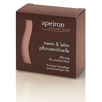 Apeiron Ayurvedic Soap Nail And Neem 100 gr