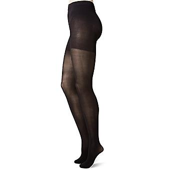 Hanes Women's Powershapers Firm Control Opaque Tights, Black,Small