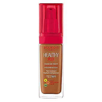 Bourjois Healthy Mix Foundation fino a 16h Wear 30ml Cappucino #62