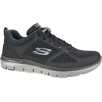 Skechers Flex Advantage 2.0 52189-BKCC Mens fitness shoes