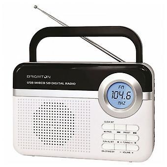 Transistor Radio BRIGMTON BT 251 B Blanc