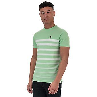 Men's Luke 1977 Option 1 Fade Striped T-Shirt in Green