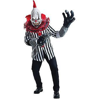 Tode Clownskostüm