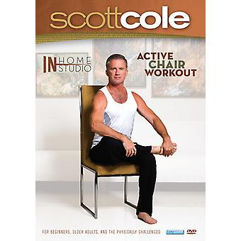 Scott Cole - In Home / in Studio: Active Chair Workout [DVD] USA import