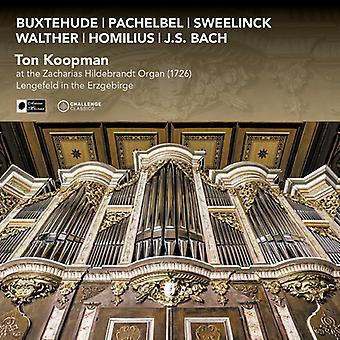 Ton Koopman - Ton Koopman at the Zacharias Hildebrandt Organ (1726) [CD] USA import