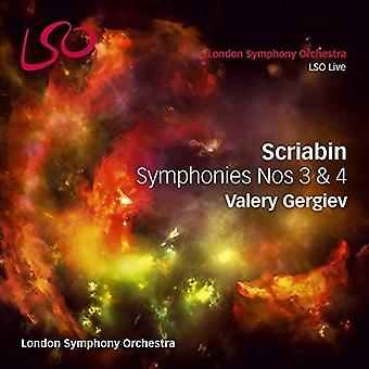 Scriabin / London Symphony Orchestra / Gergiev - Symphonies Nos. 3 & 4 [SACD] USA import