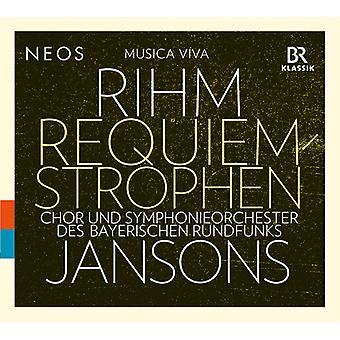 Rihm - Requiem Strophen [CD] USA import