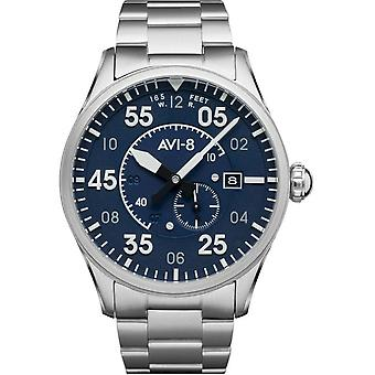 AVI-8 - Wristwatch - Men - Spitfire - AV-4073-11 - Bleu