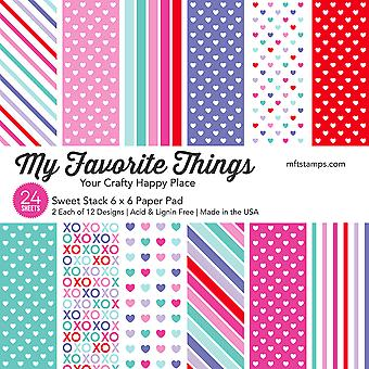 Le mie cose preferite Sweet Stack 6x6 Inch Paper Pad
