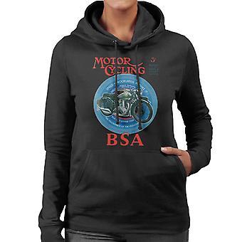 BSA Motor Cycling Empire Star Women's Hooded Sweatshirt