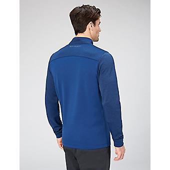 Peak Velocity Men's Quantum Fleece 1/4 Zip Athletic-Fit Top, vitória blue hea...