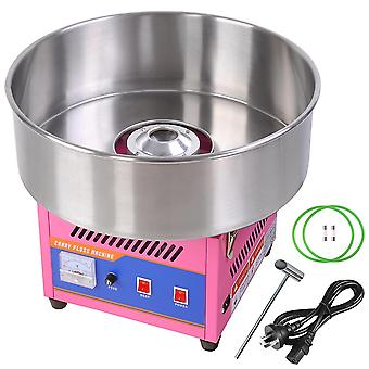 "20"" Commercial Cotton Candy Machine GEN3 Large Countertop Electric Floss Maker Birthday Party Carnival Pink"
