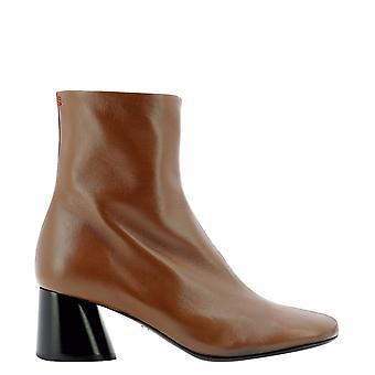 Halmanera Odile02cocoabaronmoronero Women's Brown Leather Ankle Boots