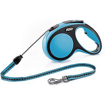 Flexi Comfort 2 - Medium 8m Schnur - Blau