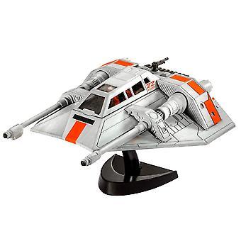 Revell 63604 Star Wars Snøspeeder Plast Modell Kit
