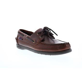 Sebago Schoener Mens Brown Wide 2E Loafers & Slip Ons Boat Shoes Sebago Schoener Mens Brown Wide 2E Loafers & Slip Ons Boat Shoes