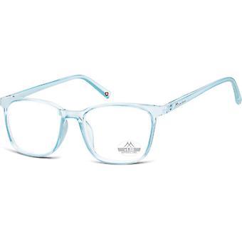 Läsglasögon Unisex HMR56 blå/genomskinlig tjocklek +2,00