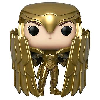 Ihme nainen 1984 Gold Shield Pose US Ex Pop