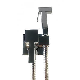 Kit de hidroscopio cuadrado con mezclador de agua caliente y fría