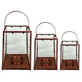 Vintage Dekorative Atmosfæriske Candle Lantern Light