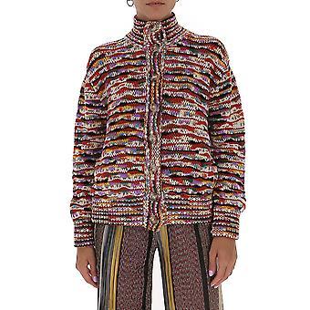 Missoni Mdm00276bk00njsm28o Women's Multicolor Wool Sweater
