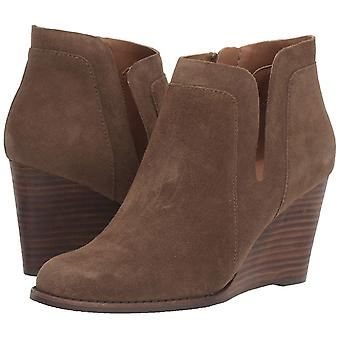 Lucky Brand Womens Yabba Leather Closed Toe Ankle Fashion Boots