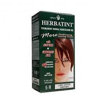 Herbatint - luz cobre peito cabelo Col 5R 150ml