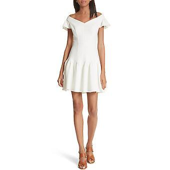Rebecca Taylor | Textured Off-the-Shoulder Mini Dress