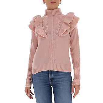 Filosofia Por Lorenzo Serafini 09227102a0227 Women's Pink Cashmere Sweater