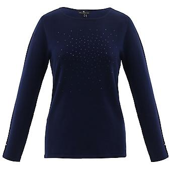 MARBLE Marble Blue Sweater 5823