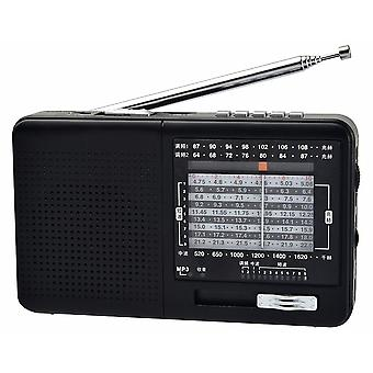 Fm Radio Am Sw Portable Shortwave Radio, And Mp3 Player