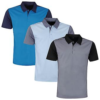 Stuburt Mens Broadway Moisture Wicking Breathable Golf Polo Shirt